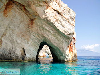 Blue Caves - Blauwe grotten | Zakynthos | De Griekse Gids 13 - Foto van De Griekse Gids